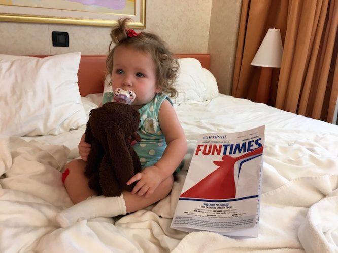 Fun Times with carnival: Cruising with a Baby   Redheadbabymama.com