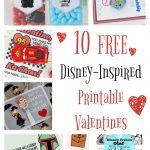10 Free Disney Inspired Printable Valentines