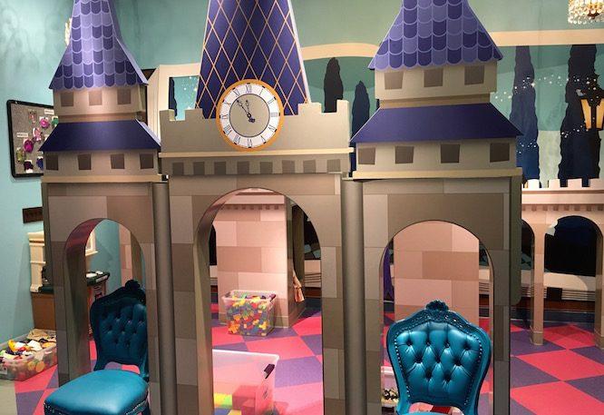 Cinderella's Dressup | Lilo's Playhouse, Polynesian Resort Childcare at Disney | Redheadbabymama.com