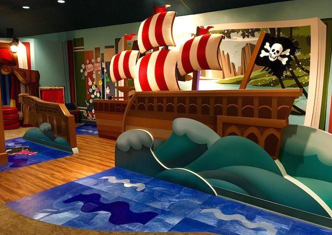 Peter Pan Pretend | Lilo's Playhouse, Polynesian Resort Childcare at Disney | Redheadbabymama.com