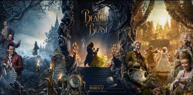 Triptych Poster for Disney's live-action Beauty And The Beast