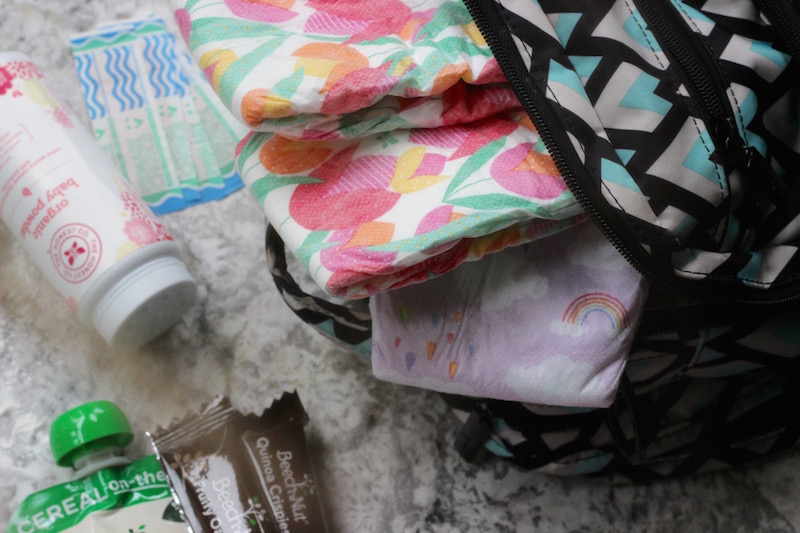 What's in My Diaper Bag? Check out my must-have essentials for any age. | Redheadbabymama.com