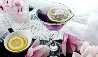 Stormy Night Martini Cocktail