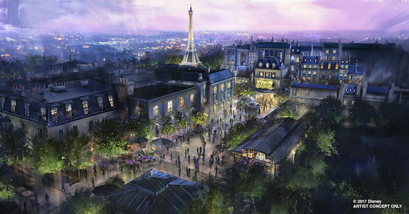 Walt Disney Parks Epcot will get a new ride in France pavilion: Ratatouille