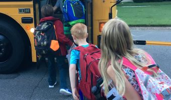 First Day of School – for BOTH kids!