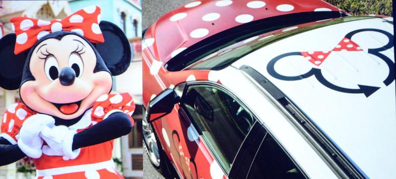 Walt Disney World new Transportation Options include Minnie Vans, an UBER like service