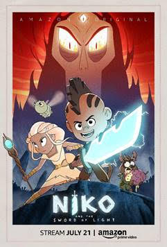 Stream Niko and the Sword of Light on Amazon. Create your own GLOWING sword on RedheadBabyMama.com