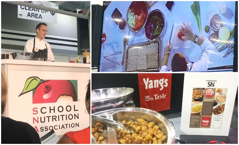 The SNA Expo had Cooking Demos as well as tastings!
