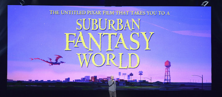 The untitled Suburban Fantasy World is a lot like Zootopia, without the Zoo animals!
