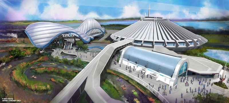 The Tron Rollercoaster will be added to Magic Kingdoms Tomorrowland, and will not replace the Speedway