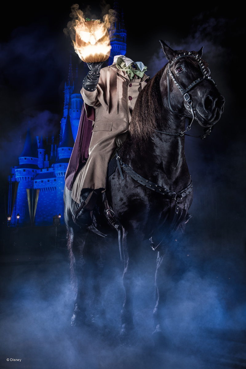 Mickey's Not So Scary Halloween Party Headless Horseman