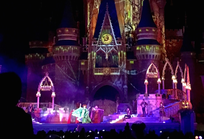 Villain Spelltacular at Mickey's Not So Scary Halloween Party