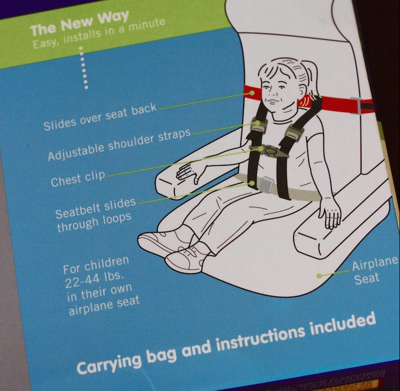 The CARES Harness comes with a bag, manual and a one-piece unit harness. | Redheadbabymama.com