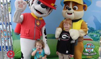 Meet Up with the Paw Patrol Tour