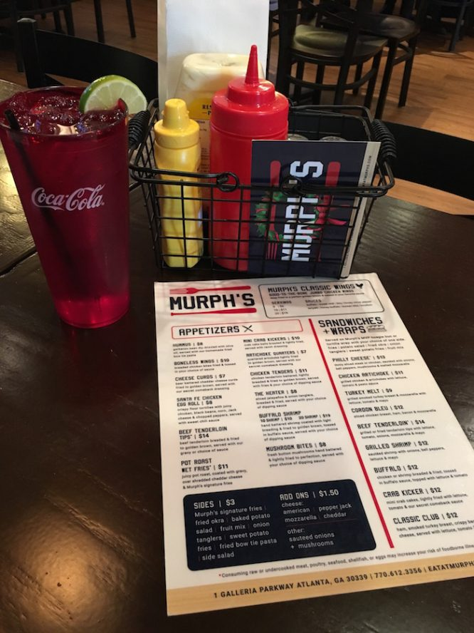 Murph's Menu and what to eat