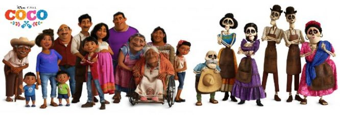 Your FAMILIA, viva y muerte es importante! | COCO review by Redheadbabymama.com