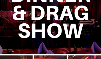 Date Night Idea: Dinner and Drag Show at LIPS Atlanta | Redheadbabymama.com
