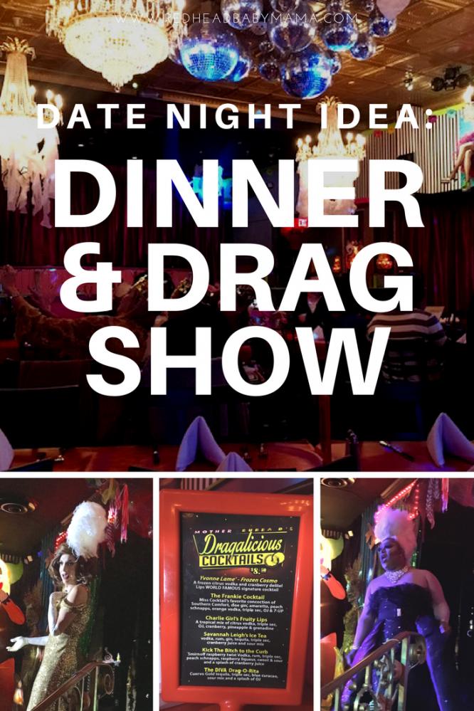 Date Night Idea: Dinner and Drag Show at LIPS Atlanta | Redheadbabymama.com