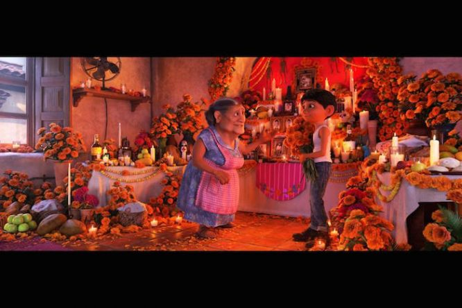 COCO shares the OFFRENDA tradition of remembering your ancestors
