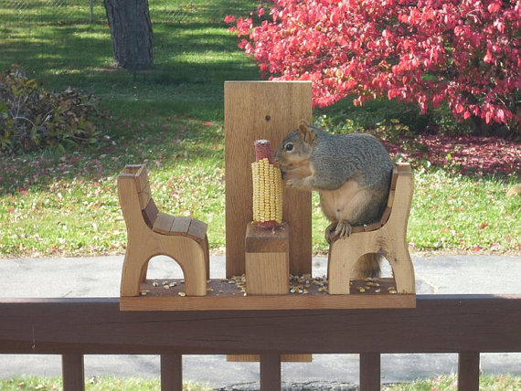 Give this squirrel chair as a gag gift to squirrel lovers!