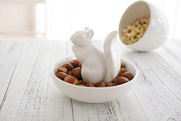 Gifts for Squirrel lovers nut bowl
