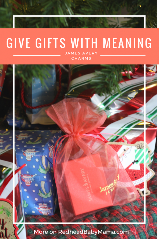 Gifts with Meaning... what's your family story? ad | Redheadbabymama.com