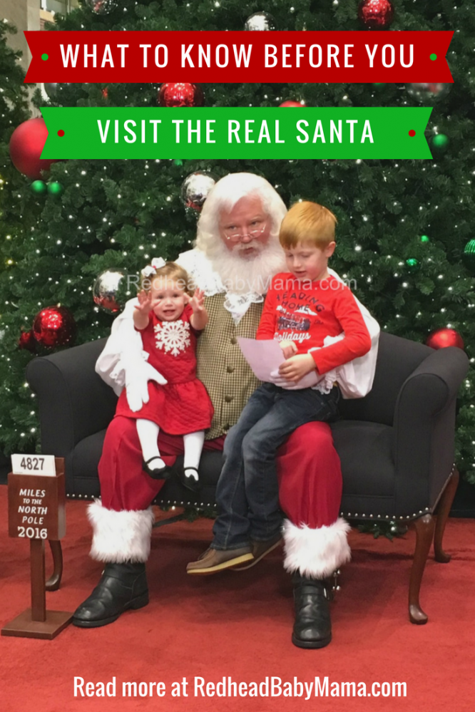 Things to know before you visit the real santa at phipps! | Redheadbabymama.com