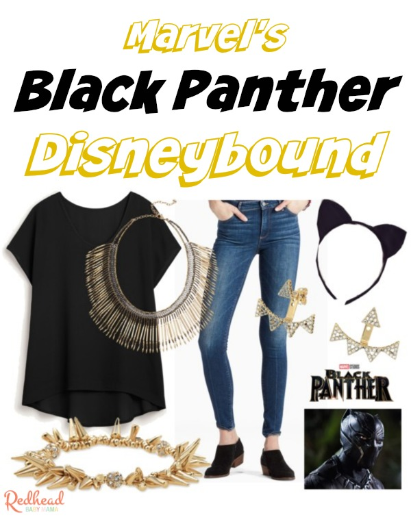 Marvel Black Panther Disneybound