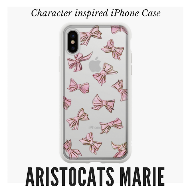 Marie aristocats disneybound phone case