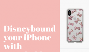 Disneybound iPhone phone case