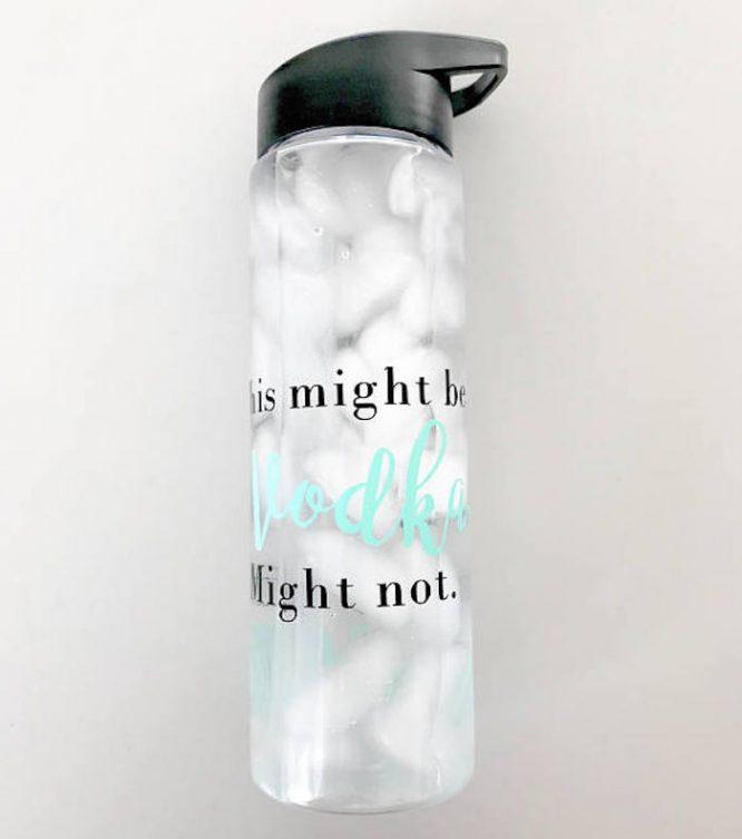 secret vodka water bottle funny