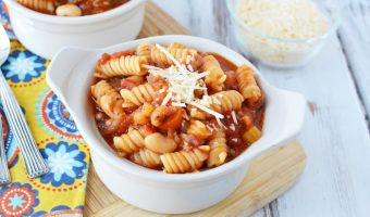One Pot Pasta Fagioli Recipe