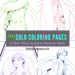Solo: A Star Wars Story Coloring Pages and Movie Review