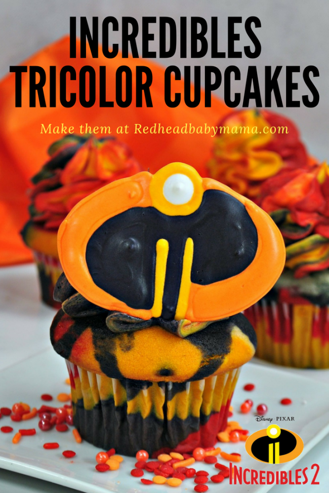 We can't stop drooling over these SUPER Incredibles Cupcakes! Add the sweet icing logos and you've got an astounding snack for your family!