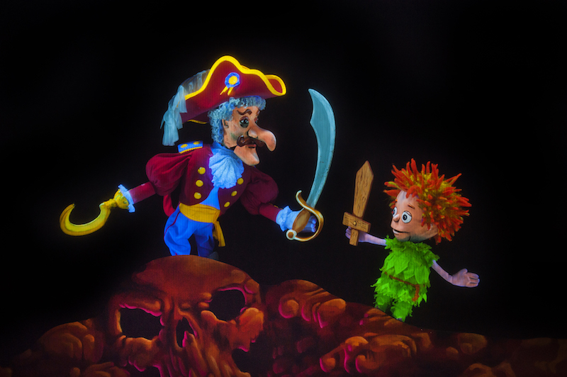 peter pan flies at Center for Puppetry Arts in Atlanta