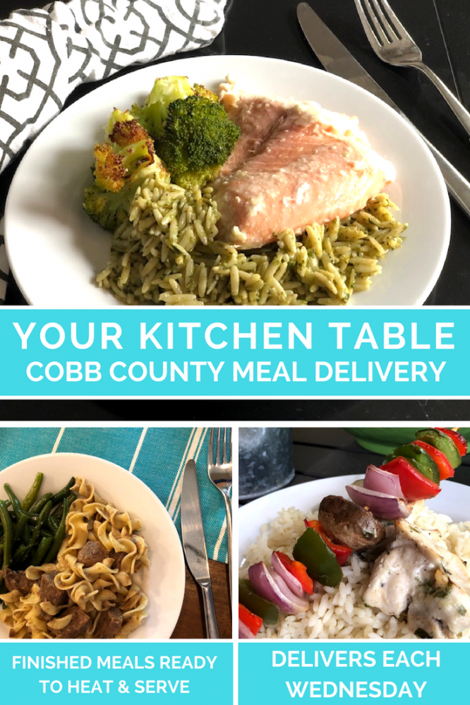 Ready for food delivery, but don't want fast food? Don't want to prep a meal? Your Kitchen Table has you covered with delivered, gourmet, finished meals.