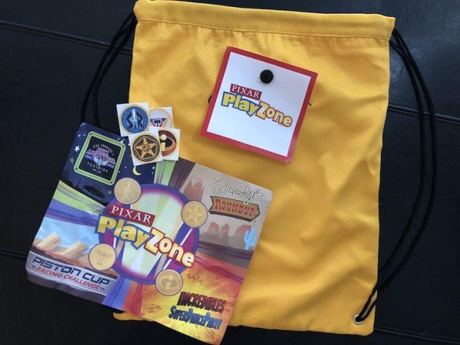drawstring bag play zone