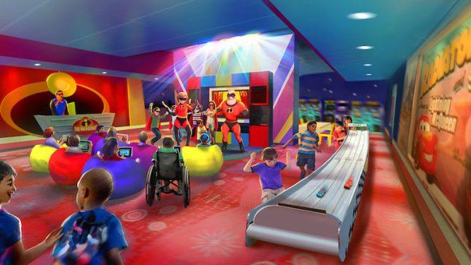 Incredible Dance Party at Pixar Play Zone