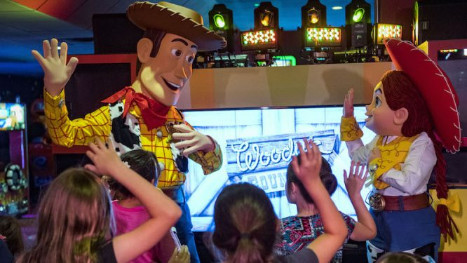 Woodys Roundup at Pixar Play Zone