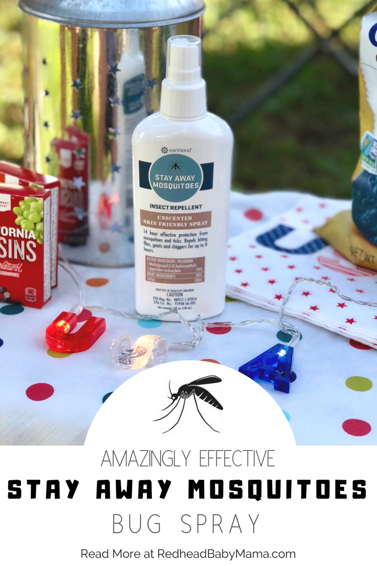 Best bug spray ever: Stay Away Mosquitoes