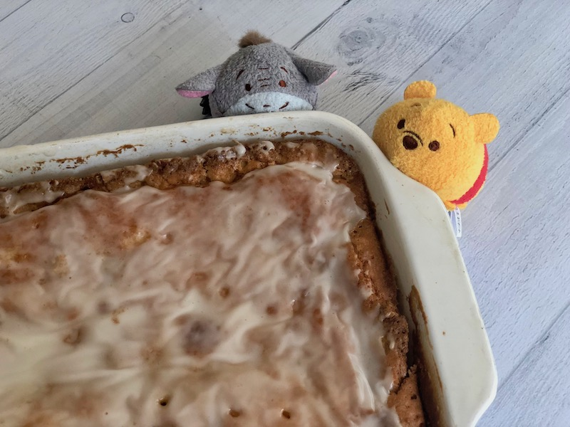 HoneyBun Breakfast Cake for Pooh and friends