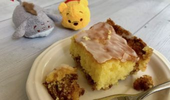 Pooh Bear Honey Bun Breakfast Cake