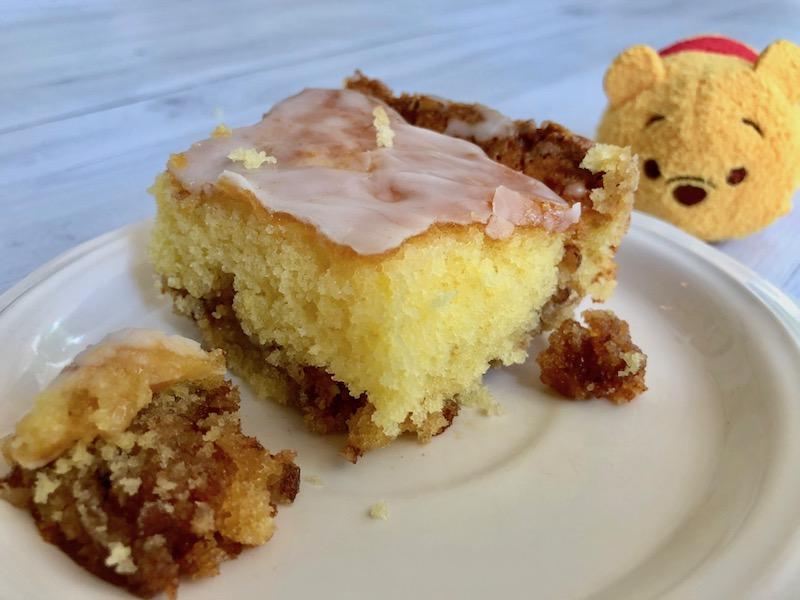 Honey Bun Breakfast Cake for Pooh Bear and Christopher Robin