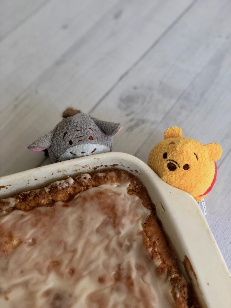 Honey Bun Breakfast Cake for Pooh Bear