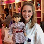 My Original Samantha Doll visits the American Girl Doll Hair Salon