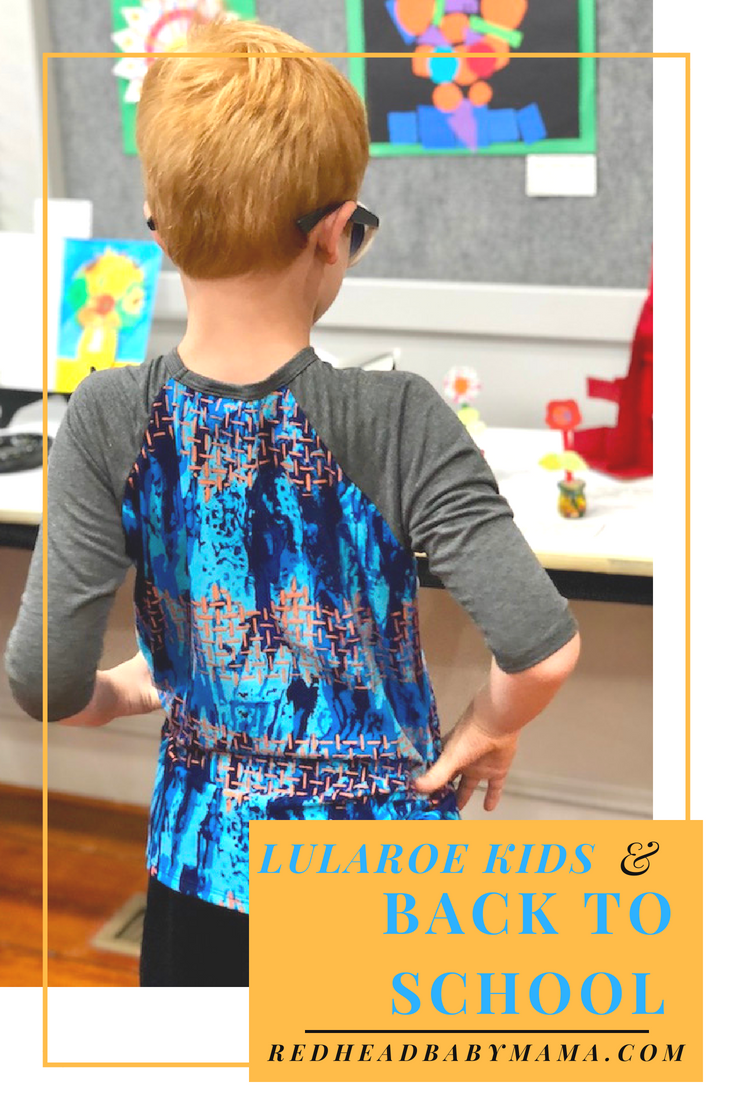 Take your kids back to school in comfort and style! LuLaRoe has pieces in trendy colorways for boys and girls of all ages! AD