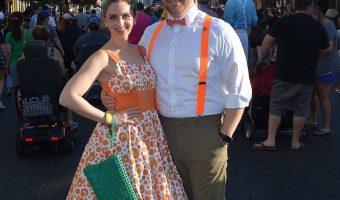 Orange Bird Disneybound for Dapper Day