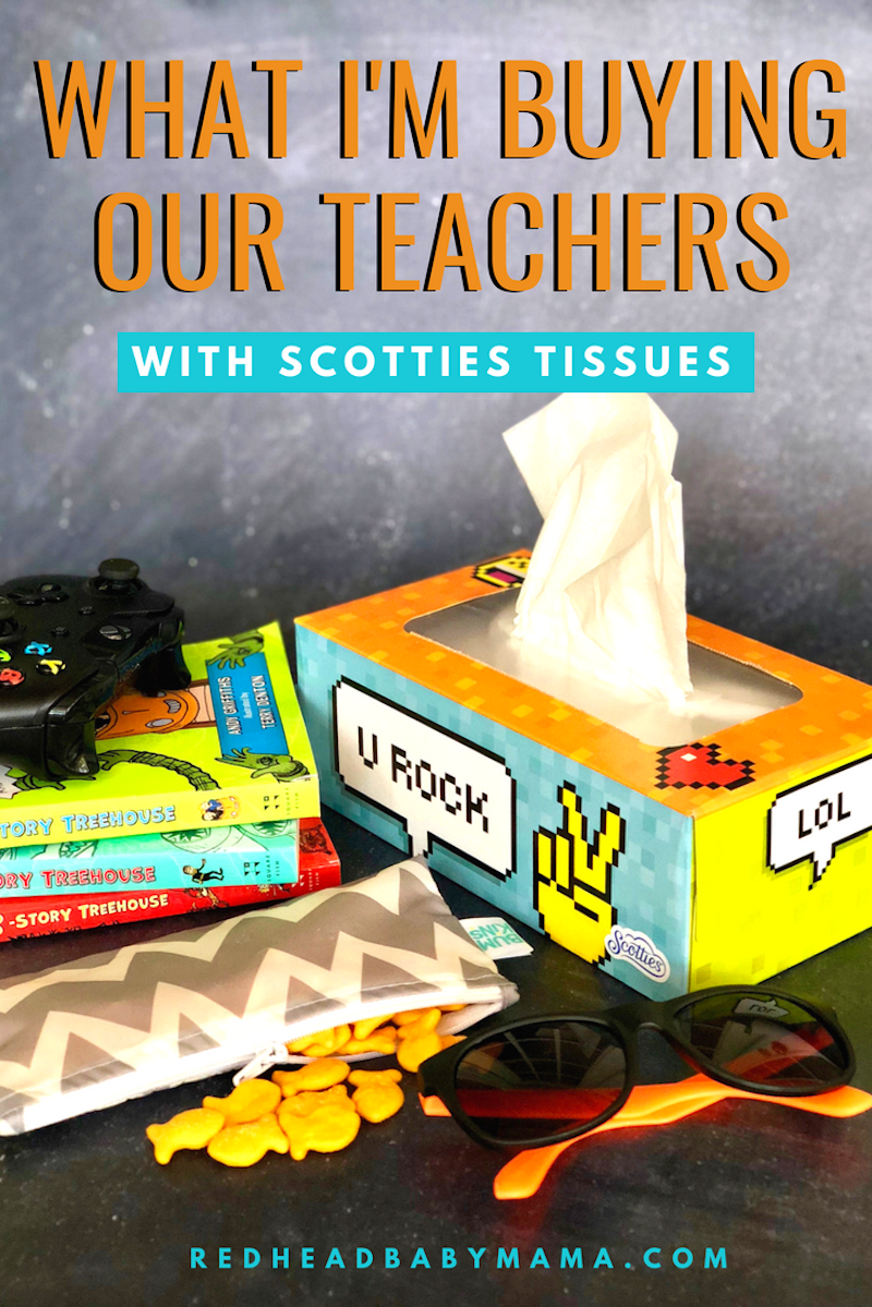 Wanna know what school Supplies I'm buying our Teachers? Stuff that's on the list & then some. The rant a mom went on about getting what they need? That. #ad sponsored by Scotties