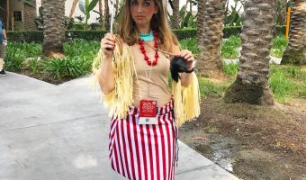 Disney Trader Sam Costume