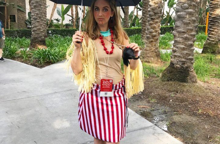 Disney Trader Sam Costume